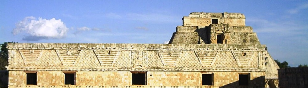 Uxmal - original photo by Pedro Sanchez (this version cropped), used by permission from Creative Commons