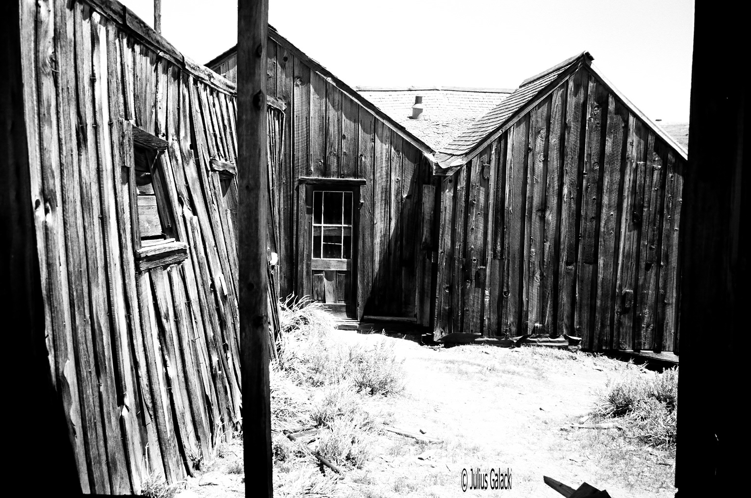 Houses As Weather (Bodie Ghost Town)