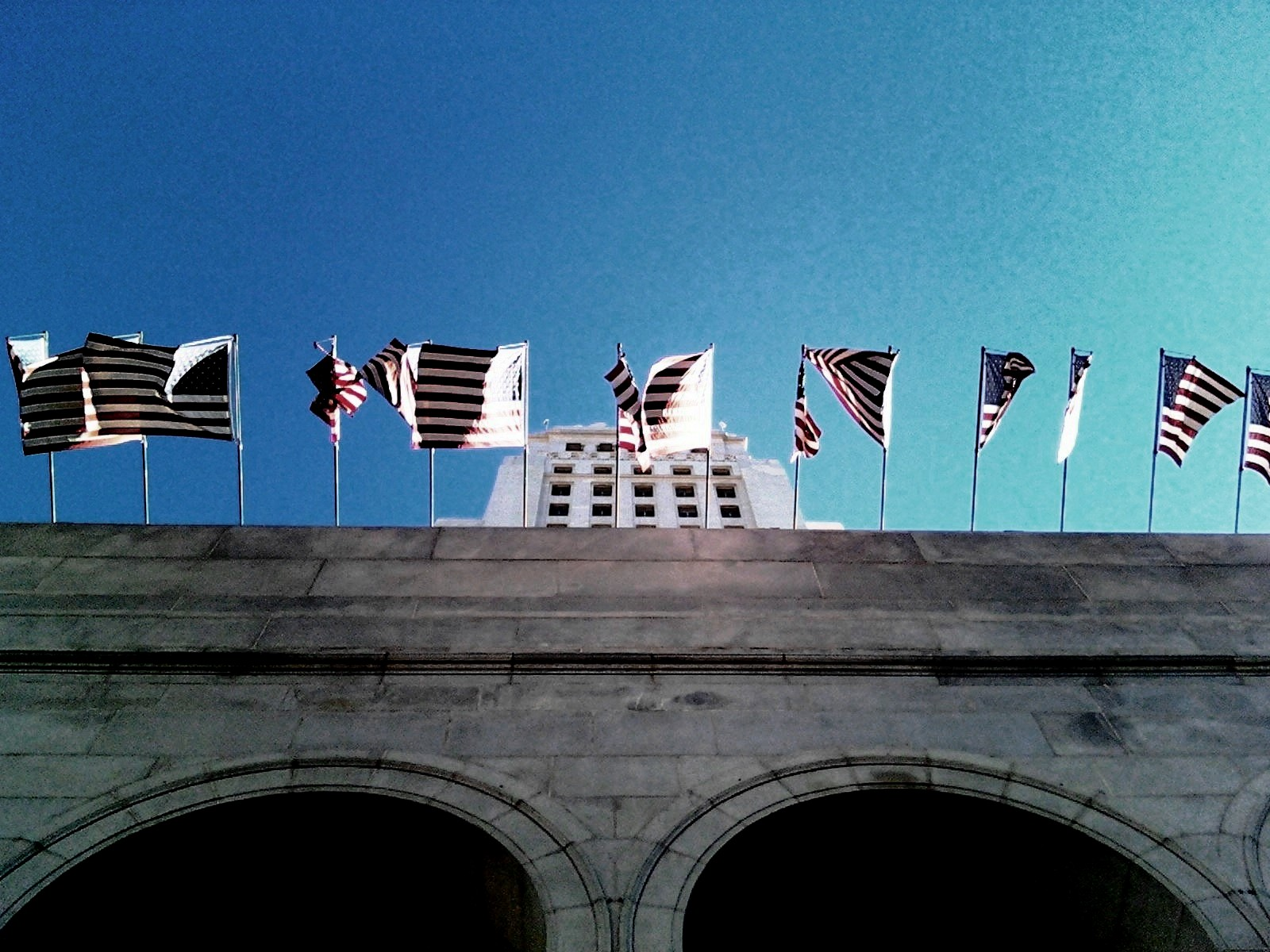 Flags, City Hall