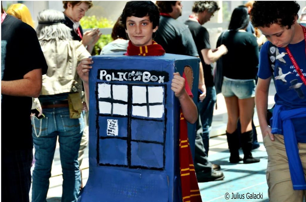 Harry Potter Inside A Tardis (mash-ups And Gender Bending Are Common Cosplay Themes)