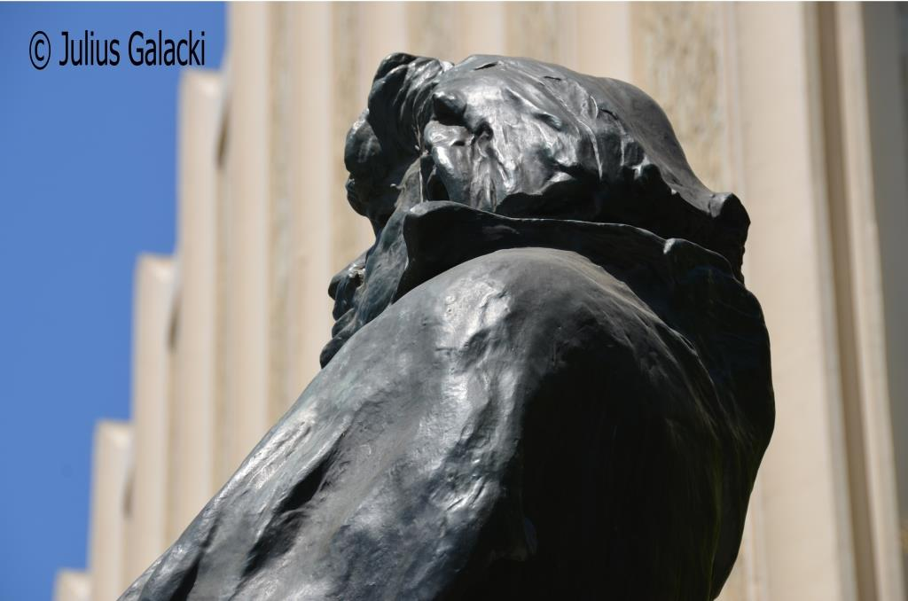 August Rodin's Statue Of Balzac At The Los Angeles County Art Museum